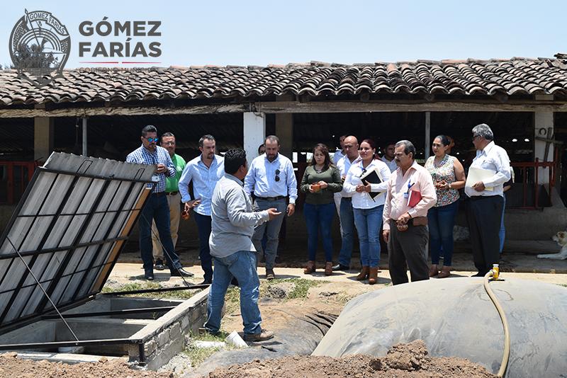 Predio Demostrativo Operado por JIRCO en Cofradía del Rosario, Gómez Farías.